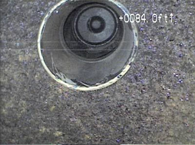 Gas Main Pan Tilt Camera