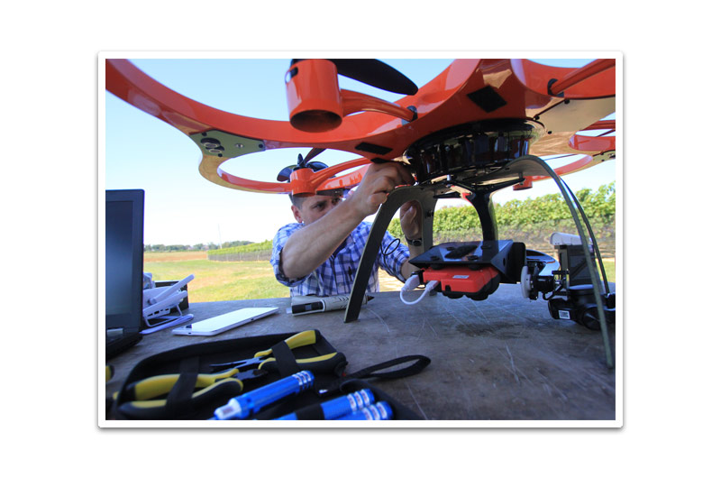 Unmanned Aerial Inspection Services