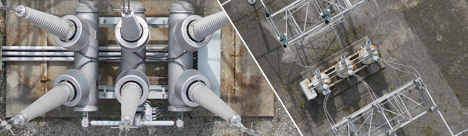 unmanned aerial substation inspection drone