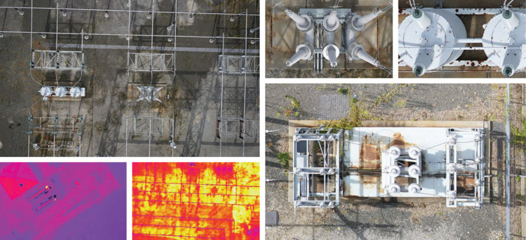 UAS Electric Substation Inspection