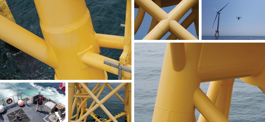 offshore wind drone inspection services