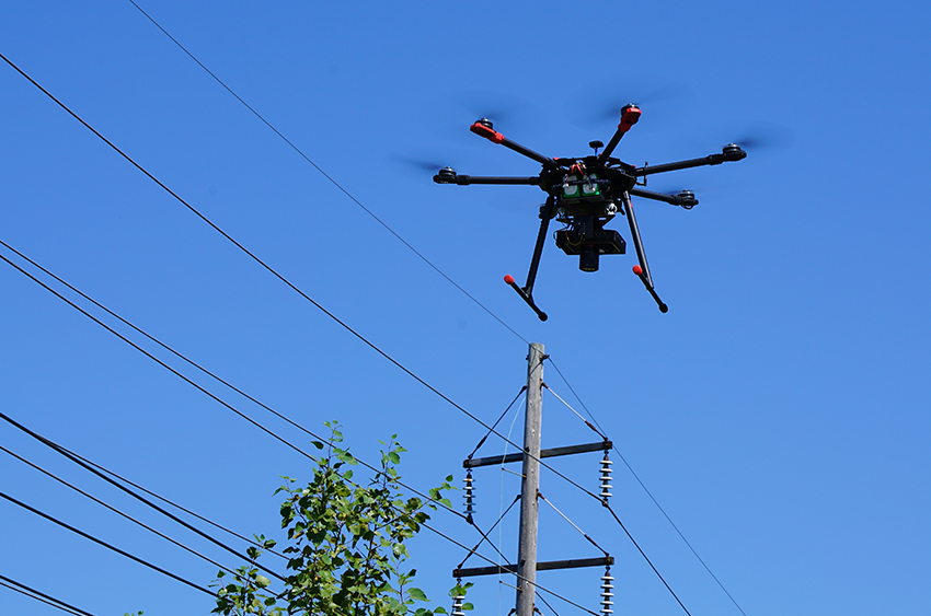 Power and Utilities Inspections, Aerial Power Line
