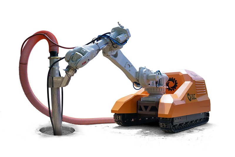 Robotic Roadworks and Excavation System