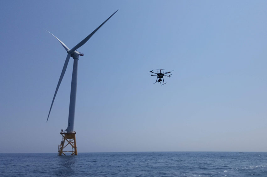 uas offshore inspection services