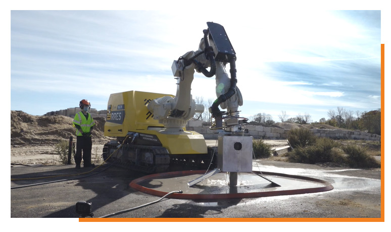 rres chainsaw robot