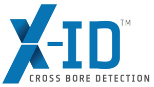 x-id cross bore detection logo